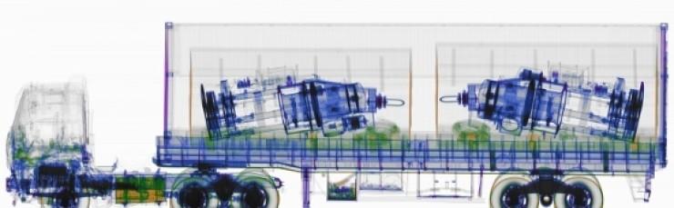 Dual-energy transmission image