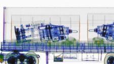 OmniView Gantry high-energy, dual-energy transmission X-ray image