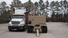 Eagle T25 trailer-based cargo and vehicle X-ray inspection system