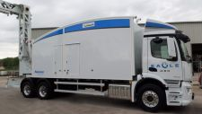 The Eagle M60 high-energy mobile inspection system