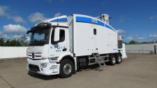 Eagle M60 mobile cargo and vehicle inspection system