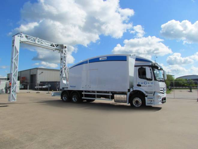 Eagle M60 ZBx multi-technology cargo and vehicle inspection system