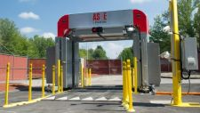 Z Portal X-ray inspection system for screening passenger vehicles