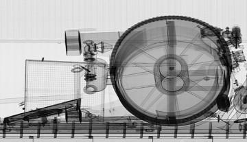 High-energy transmission image