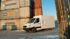 ZBV mobile cargo vehicle screening system with Z Backscatter imaging