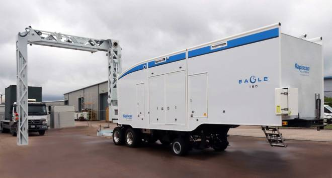 Eagle T60 trailer-based cargo inspection system