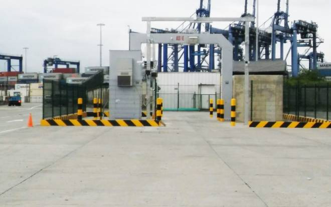 Sentry high-energy inspection portal