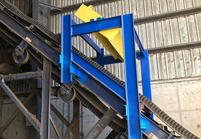 CM268-SPlit Conveyor Radiation Monitor