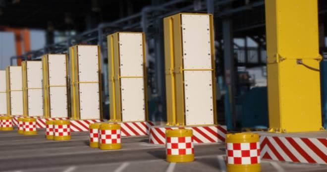 GCS-1500 Series Radiation Portal Monitor for large vehicles, trucks, cargo