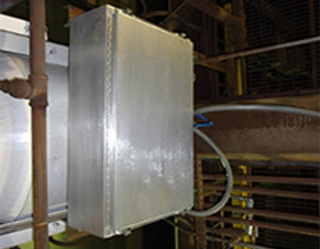 Nucsafe Baghouse Monitor for Steel and Scrap Industries