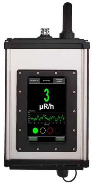 Nucsafe Shield Area Monitor for Steel and Scrap Industries